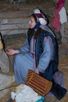 ...un'adoratrice   - San michele di ganzaria (6820 clic)