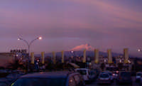 l'Etna....panorama al tramonto  - Misterbianco (3394 clic)