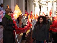 Manifestazione sindacale del 12 Dicembre 2008 (02). Piazza Antonello   - Messina (2492 clic)
