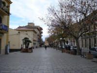 Panoramica invernale della Piazza Vittorio Emanuele  - Sant'agata di militello (5437 clic)