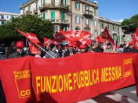 Manifestazione sindacale del 12 Dicembre 2008. (18). Via Cannizzaro. Le nubi si diradano.   - Messina (2373 clic)