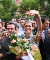 Festeggiamenti a Miss Italia 2008 Miriam Leone  - Acireale (1338 clic)