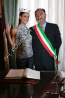 Festeggiamenti a Miss Italia 2008 Miriam Leone  - Aci catena (2961 clic)
