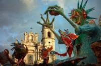 carnevale: carri allegorici in piazza duomo  - Acireale (2279 clic)