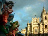carnevale: carri allegorici in piazza duomo  - Acireale (1947 clic)
