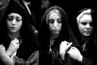 Giovedì santo: processione sacra: la Madonna  - Marsala (2159 clic)