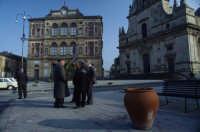 la piazza esagonale  - Grammichele (6993 clic)