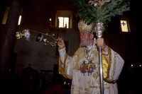 il rito pasquale ortodosso:la benedizione  - Piana degli albanesi (7301 clic)