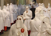 venerdý santo: la processione  - Leonforte (2364 clic)