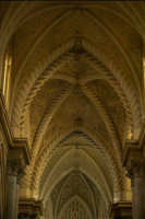 il soffitto gotico del duomo di erice  - Erice (2516 clic)