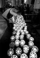 lumini per S. Sebastiano  - Acireale (2250 clic)