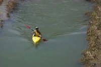 Canoa nel fiume Salso  - Agira (3635 clic)