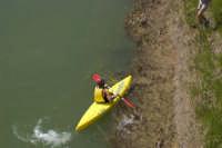 Canoa nel fiume Salso 3  - Agira (3148 clic)