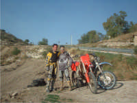 alessandro e igor in pista a Palazzolo A..  - Palazzolo acreide (2606 clic)