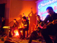 Ouroboros in concerto Natale in blues il 27 dic. '07. www.ouroborosband.it  - Leonforte (1573 clic)