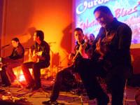Ouroboros in concerto Natale in blues il 27 dic. '07. www.ouroborosband.it  - Leonforte (2043 clic)