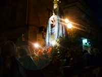 Maria Maddelena della Chiesa Maria SS Annunziata. Durante la processione dell' incontro il giorno di Pascqua.  - Leonforte (2923 clic)