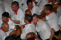 Processione di S. Sebastiano (la fatica dei portanti)  - Mistretta (6209 clic)