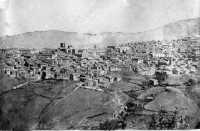 Panorama di Mistretta (immagine più antica conosciuta,ca.1850,su dagherrotipo)proprietà privata).  - Mistretta (11735 clic)