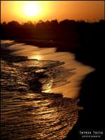tramonto  - Simeto (3744 clic)