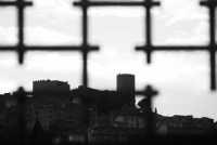 Veduta del Castello dal basso....  - Salemi (1436 clic)