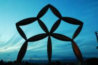 Stella di gibellina all'imbrunire  - Gibellina (4431 clic)