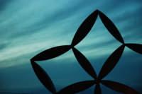 Particolare Stella di gibellina all'imbrunire  - Gibellina (4106 clic)