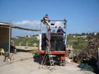 qua eravamo che provavamo le casse  - Castellammare del golfo (1279 clic)