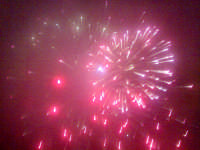 Fuochi per la festa  - Dagala del re (3665 clic)