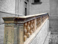 Scalinata dell'ingresso laterale del Duomo  - Piazza armerina (2020 clic)