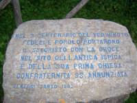 LAPIDE DEL CENTENARIO POSTA NEL PARCO FORZA   - Ispica (2793 clic)