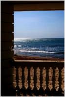 scorcio del mare da  la casa del commissario Montalbano    - Marina di ragusa (4487 clic)
