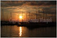 Tramonto sul porto di Ortigia  - Siracusa (2204 clic)