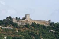 Castello di Lombardia visto da Calascibetta ENNA LUIGI PINTABONA