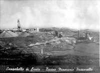 Anno 1955 - Miniera di zolfo della società Montecatini in contrada Passarello  - Campobello di licata (14588 clic)