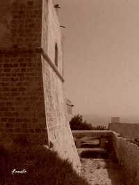 Il Castello - Particolare della Torre  - Licata (3438 clic)