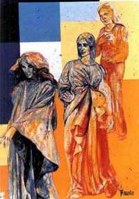 Parco della Divina Commedia - Le tre donne  - Campobello di licata (6555 clic)