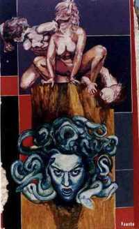 Parco della Divina Commedia - Medusa  - Campobello di licata (8579 clic)