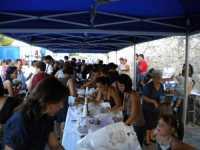 FESTEGGIAMENTI IN ONORE A SAN CARLO BORROMEO  DAL 7 AL 10 AGOSTO 2009  DEGUSTAZIONE DI RANZA E SCIURA E SFINCIONE  - San carlo di chiusa sclafani (4399 clic)
