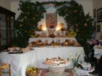 Festa San Giuseppe 2010 (Altare famiglia Quartana)  - San carlo di chiusa sclafani (5687 clic)