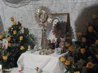 San Carlo 6 giugno 2010 Altare dedicato al SS.SACRAMENTO  - Chiusa sclafani (3420 clic)