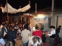 San Carlo 6 giugno 2010 Altare dedicato al SS.SACRAMENTO  - Chiusa sclafani (3565 clic)