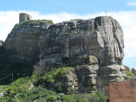 Torre medievale (castello soprano)  - CORLEONE - inserita il