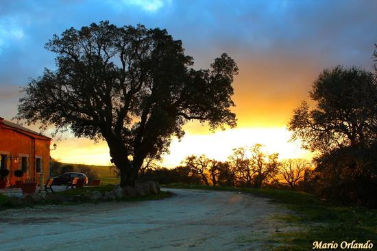 Un tiepido tramonto invernale. . . - FICUZZA - inserita il 13-Mar-13