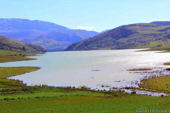 Lago di Prizzi... - PRIZZI - inserita il 02-Mar-12