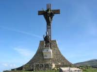 Monumento a San Leoluca e Cristo Risorto... San Leoluca c.da Sopra la rocca...  - Corleone (2627 clic)