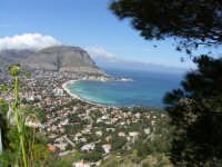 panoramica dal Monte Pellegrino  - Mondello (2690 clic)