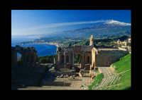 teatro greco romano  - Taormina (15359 clic)