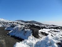L'Etna innevata   - Nicolosi (3905 clic)