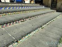 Gradini della scalinata di Santa Maria del Monte  CALTAGIRONE Giulio Pappa